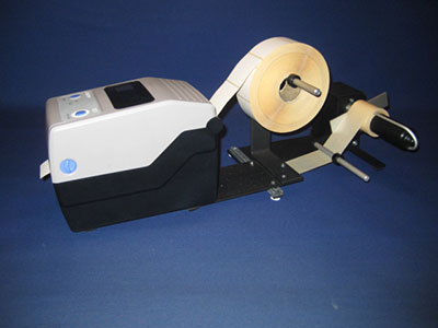 Back Paper UnRewinder URWB-4S with Sato CG2 Printer