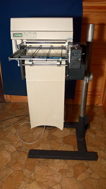 Label Dispenser M10-d with Sato M10e Printer